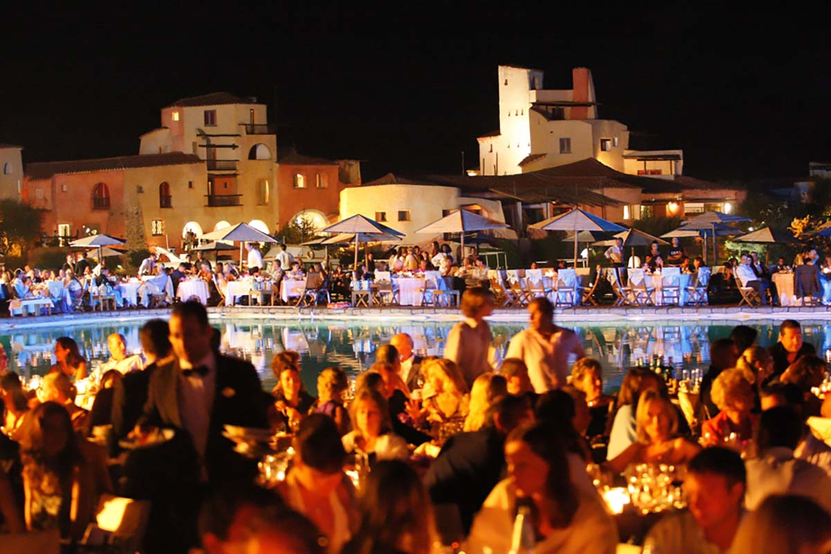 Gala dinner Sardinia Corsica