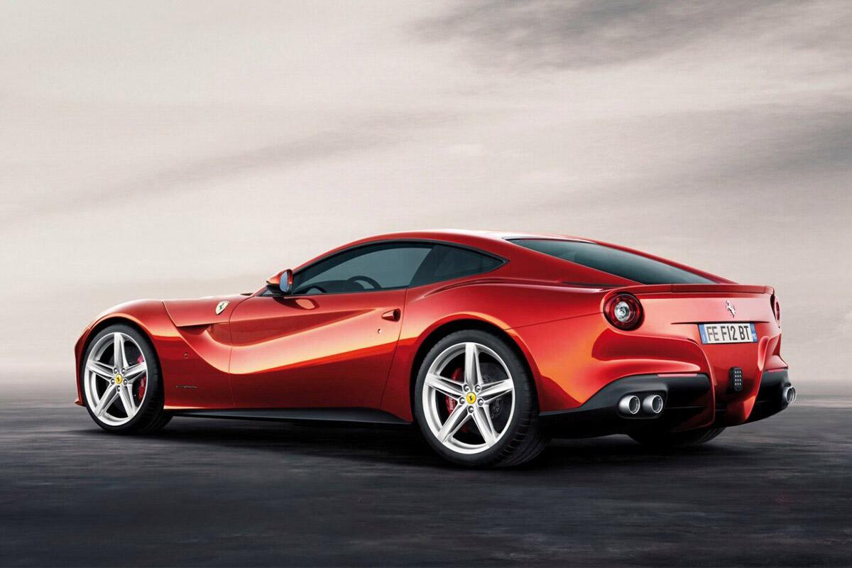 Ferrari F12 Berlinetta Bluwonder